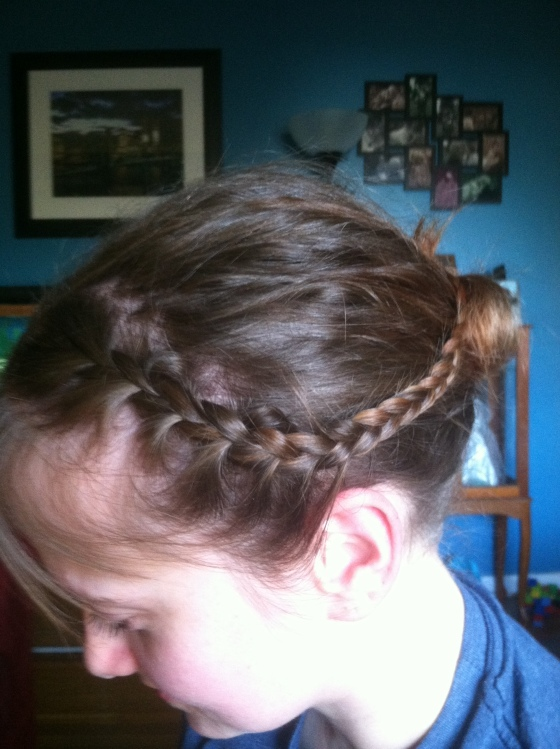 Shorty bun-n-braid