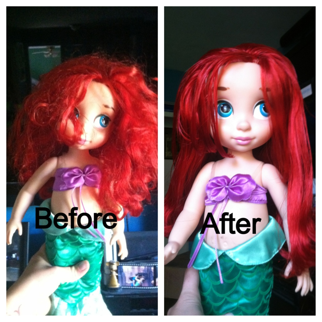 Fixing Doll Hair Superstevied