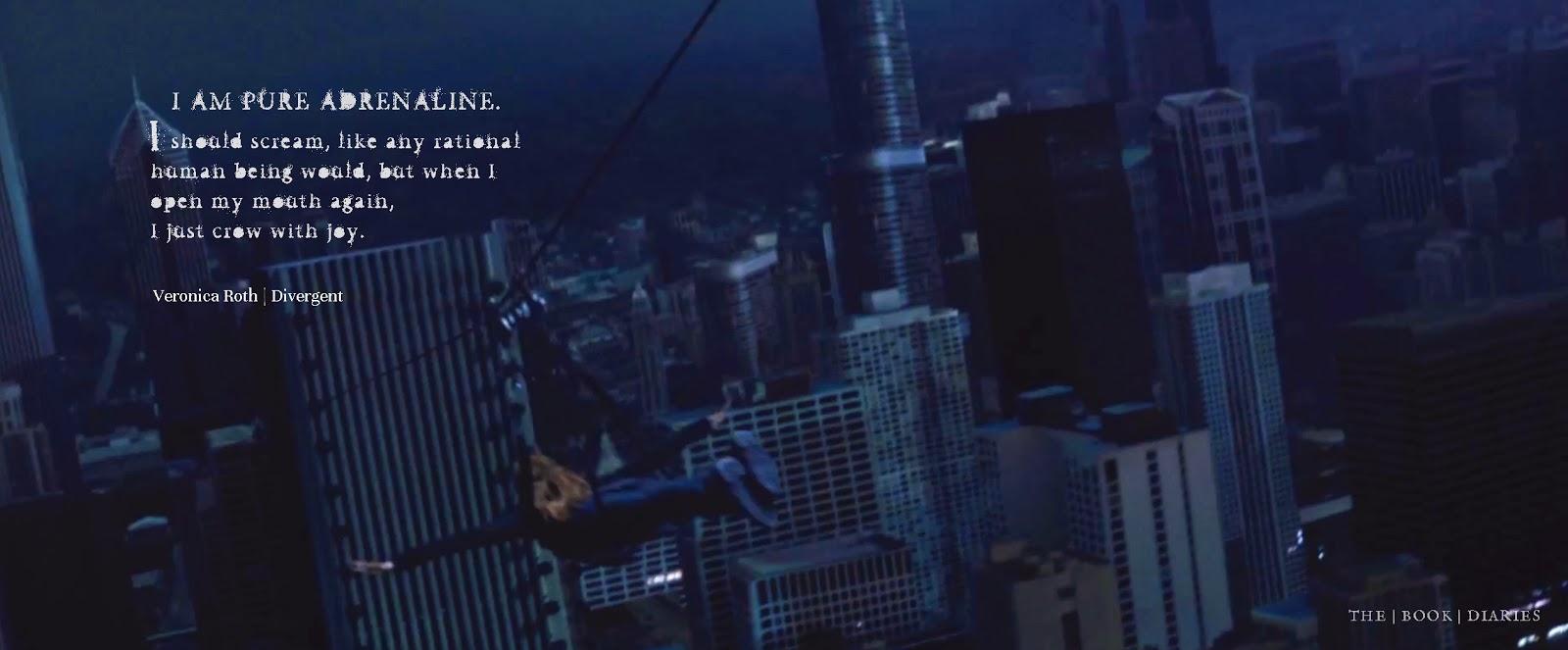 Divergent Zipline Scene Quote Divergent | superstevi...