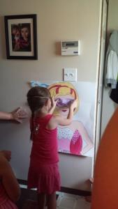 Chiara taking her turn